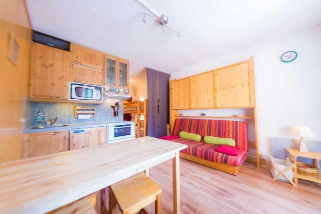 Location au ski Studio coin montagne 4 personnes (317) - Residence Le Laus - Risoul