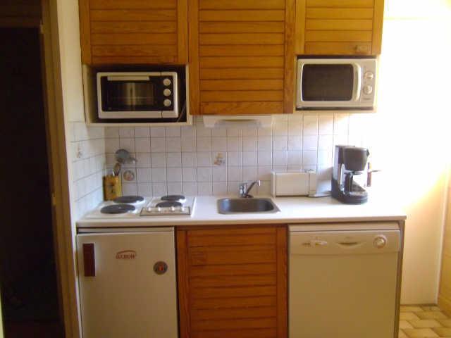 Location au ski Appartement 2 pièces 6 personnes (924) - Residence Le Laus - Risoul - Kitchenette