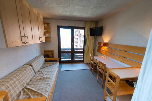 Location au ski Studio cabine 4 personnes (885) - Residence Le Laus - Risoul - Coin repas
