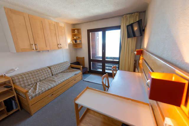 Location au ski Studio cabine 4 personnes (885) - Residence Le Laus - Risoul - Lits superposés