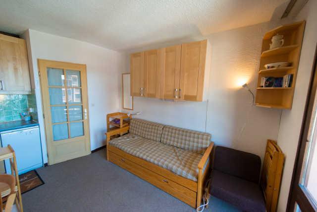Location au ski Studio cabine 4 personnes (885) - Residence Le Laus - Risoul - Séjour
