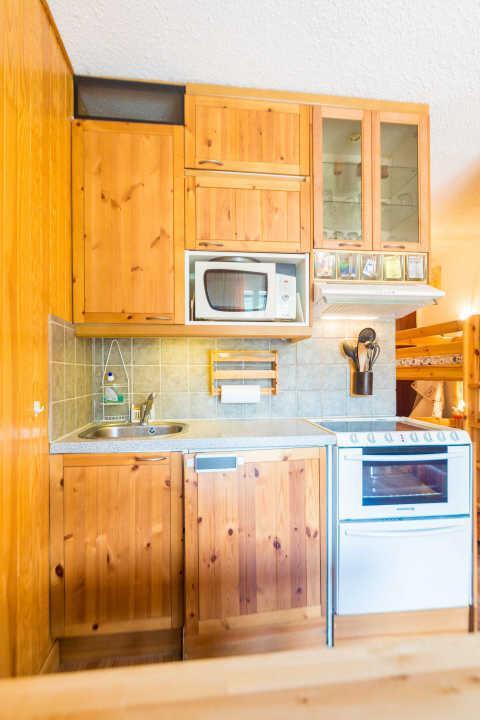 Location au ski Studio coin montagne 4 personnes (317) - Residence Le Laus - Risoul - Kitchenette