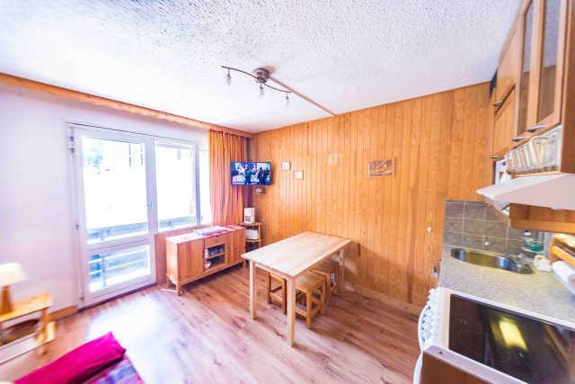 Location au ski Studio coin montagne 4 personnes (317) - Residence Le Laus - Risoul - Séjour