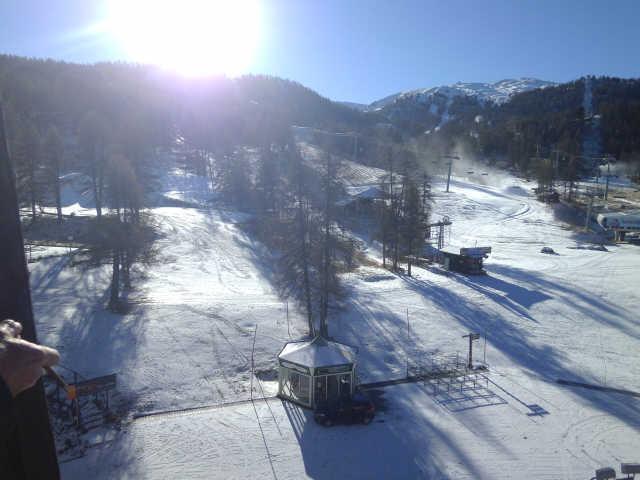 Location au ski Studio coin montagne 4 personnes (941) - Residence Le Valbel - Risoul - Extérieur hiver