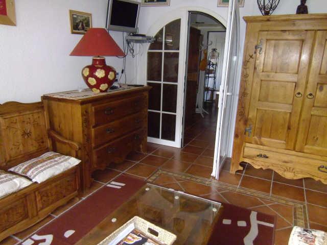 Location au ski Studio coin montagne 3 personnes (904) - Residence Le Valbel - Risoul - Séjour