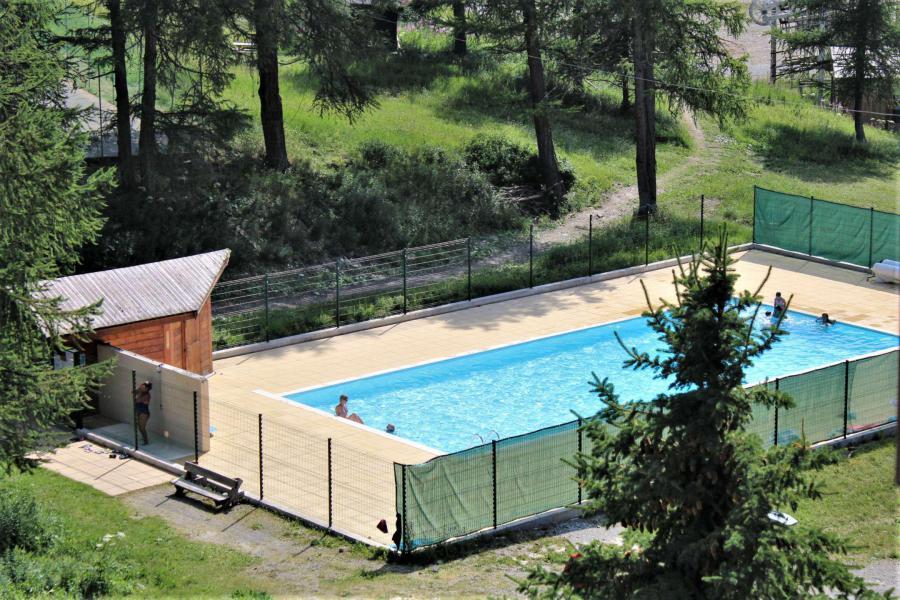 Аренда на лыжном курорте Квартира студия со спальней для 4 чел. (08I) - Résidence les Chabrières I - Risoul