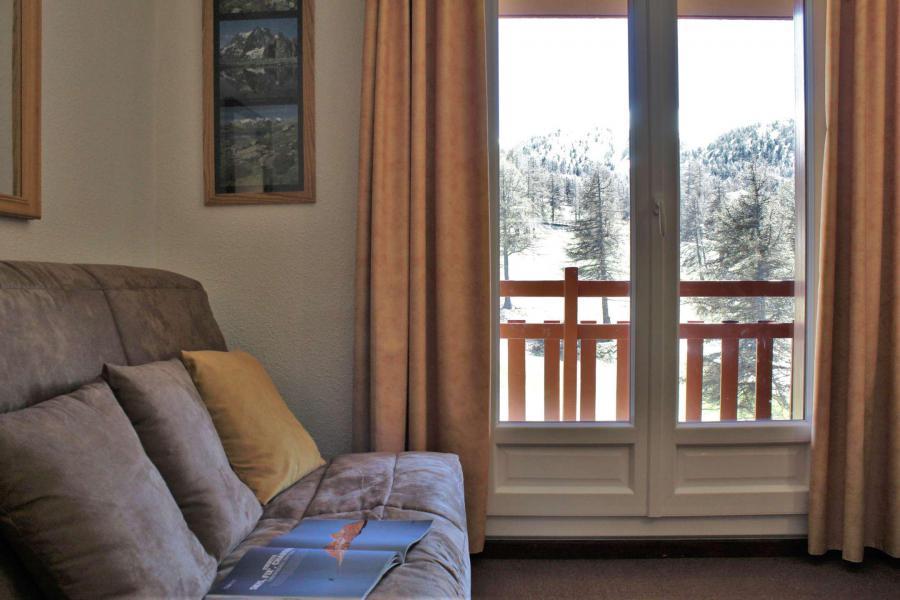 Location au ski Appartement 2 pièces 4 personnes (41II) - Résidence les Chabrières II - Risoul - Kitchenette