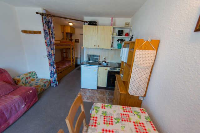 Location au ski Studio coin montagne 4 personnes (86) - Residence Les Chamois - Risoul
