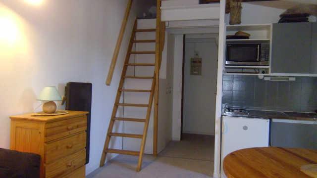 Location au ski Studio mezzanine 4 personnes (221B) - Residence Les Clarines - Risoul