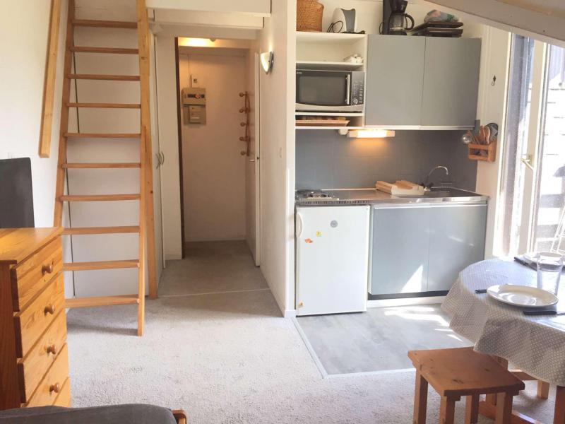 Аренда на лыжном курорте Квартира студия мезонин 4 чел. (221B) - Résidence les Clarines B1 - Risoul