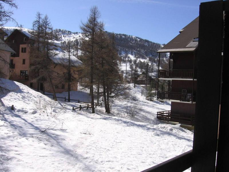 Аренда на лыжном курорте Квартира студия со спальней для 4 чел. (109) - Résidence les Crêtes - Risoul