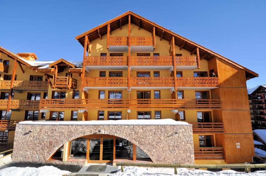 Location au ski Residence Mmv Antares - Risoul - Extérieur hiver