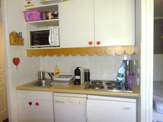 Location au ski Appartement 2 pièces 6 personnes (60) - Residence Pegase - Risoul - Cuisine