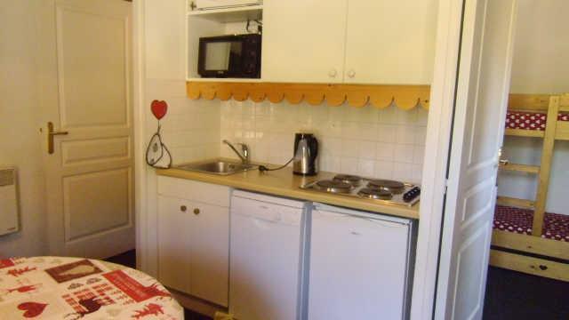 Location au ski Appartement 2 pièces 6 personnes (848) - Residence Pegase - Risoul - Cuisine