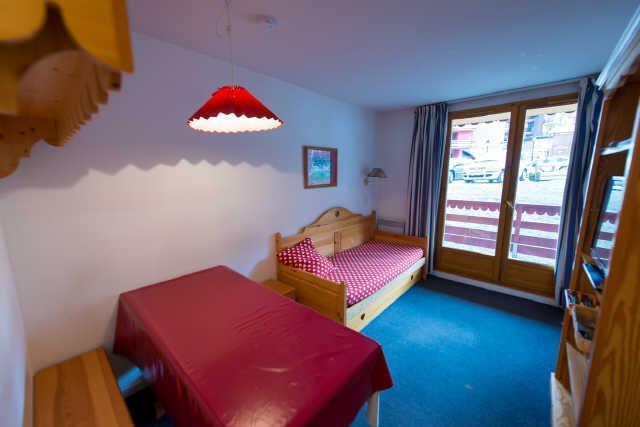 Location au ski Studio coin montagne 4 personnes (919) - Residence Pegase - Risoul - Banquette-lit