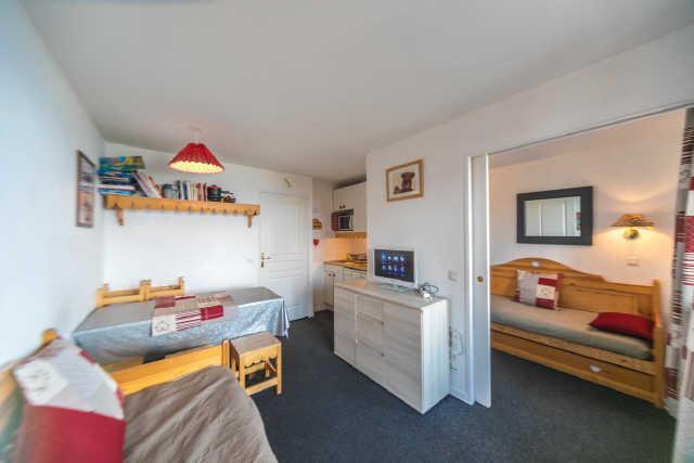 Location au ski Studio coin montagne 6 personnes (43) - Residence Pegase - Risoul - Banquette