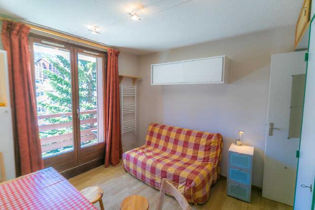 Location au ski Studio cabine 4 personnes (7) - Residence Soldanelles - Risoul - Séjour