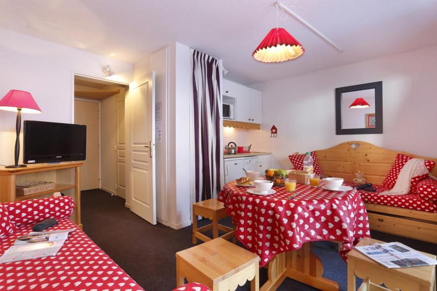 Location au ski Residence Vega - Risoul - Banquette-lit tiroir