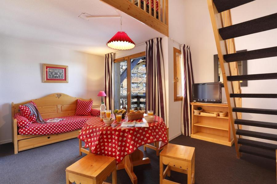 Location au ski Residence Vega - Risoul - Coin repas