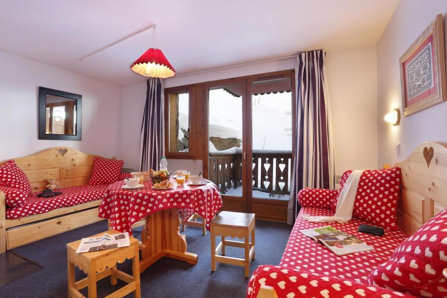 Location au ski Residence Vega - Risoul - Coin séjour