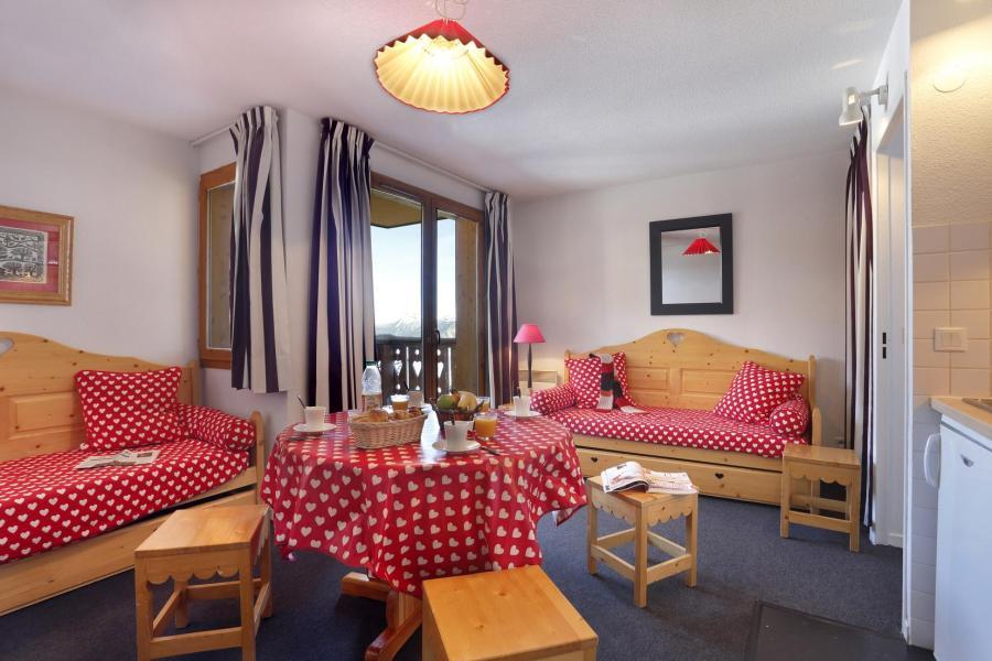 Location au ski Residence Vega - Risoul - Séjour