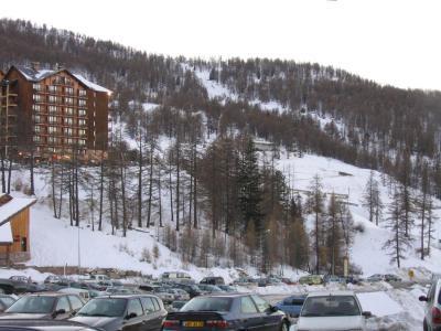 Rent in ski resort Studio cabin 4 people (05) - Résidence Edelweiss A - Risoul