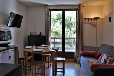 Rent in ski resort Studio sleeping corner 4 people (102) - Résidence le Belvédère - Risoul - Living room