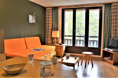 Rent in ski resort Studio sleeping corner 4 people (34A) - Résidence les Clématites A - Risoul