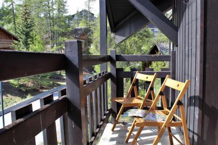 Аренда на лыжном курорте Квартира студия со спальней для 4 чел. (412D) - Résidence les Clématites D - Risoul