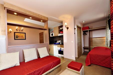 Location au ski Residence Mmv Antares - Risoul - Canapé