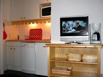 Location au ski Residence Vega - Risoul - Kitchenette