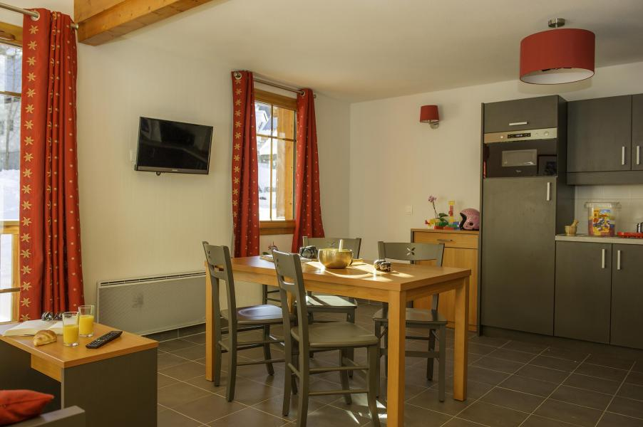 Location au ski Résidence les Chalets de Belledonne - Saint Colomban des Villards - Cuisine ouverte