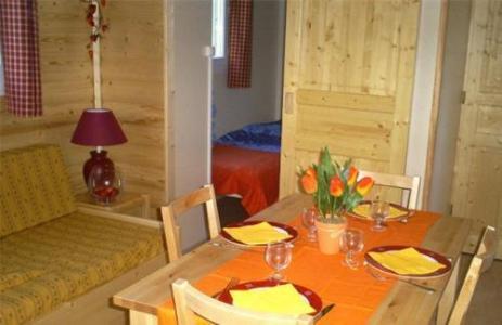Location au ski Mobil-Home 3 pièces 6 personnes - Domaine La Perriere - Saint Colomban des Villards - Séjour
