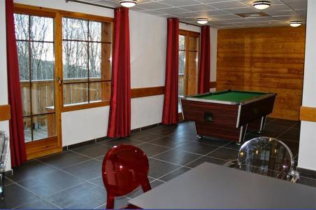 Location au ski Residence Les Chalets De Belledonne - Saint Colomban des Villards - Réception