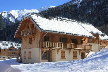 Vacances en montagne Résidence les Chalets de Belledonne - Saint Colomban des Villards - Extérieur hiver