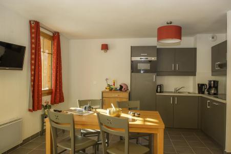 Location au ski Residence Les Chalets De Belledonne - Saint Colomban des Villards - Cuisine