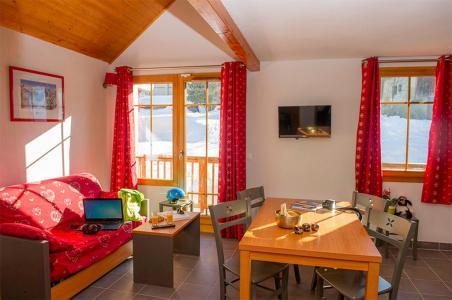 Аренда на лыжном курорте Résidence les Chalets de Belledonne - Saint Colomban des Villards - Диван