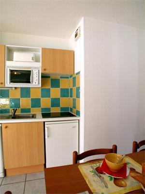 Location au ski Appartement 3 pièces 6 personnes - Residence Belle Vue - Saint-François Longchamp - Kitchenette