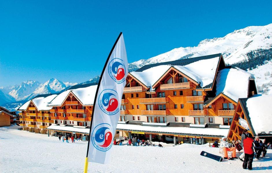 Location au ski Le Hameau de Saint François - Saint-François Longchamp - Extérieur hiver