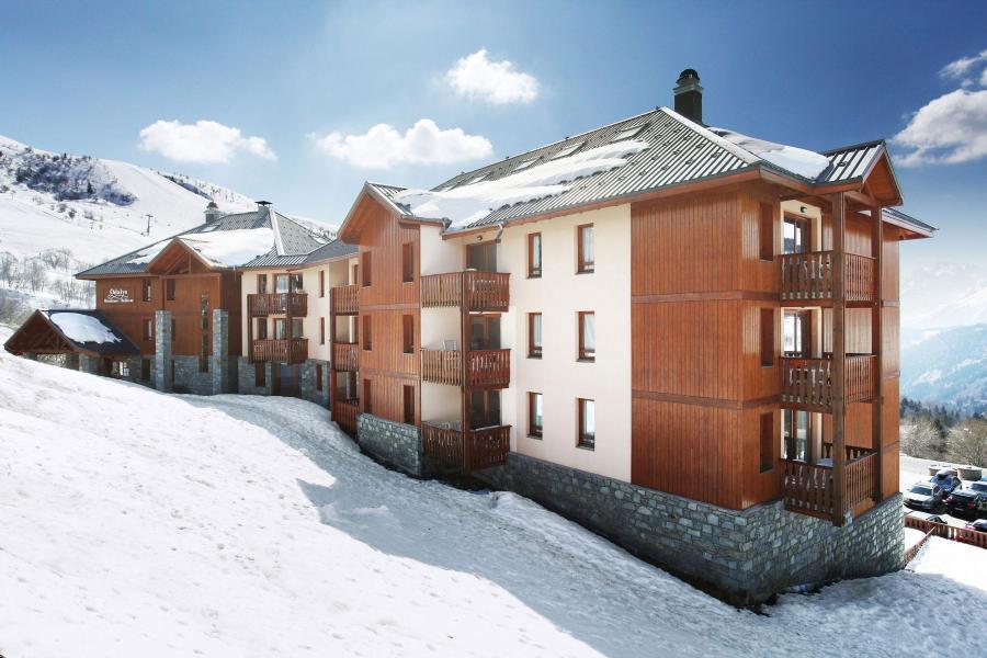 Location au ski Résidence Belle Vue - Saint-François Longchamp - Extérieur hiver