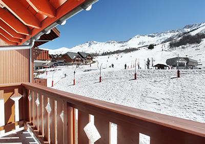 Location au ski Le Hameau De Saint Francois - Saint-François Longchamp - Extérieur hiver