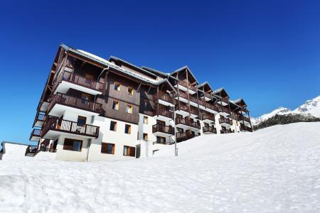 Vacances en montagne Les Balcons du Soleil - Saint-François Longchamp - Extérieur hiver