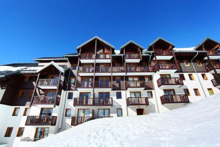 Location au ski Les Balcons du Soleil - Saint-François Longchamp - Extérieur hiver