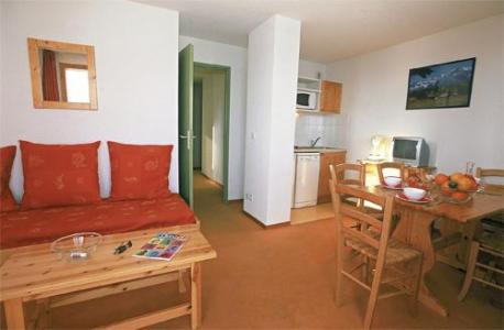Location au ski Appartement 2 pièces cabine 5-6 personnes - Les Balcons Du Soleil - Saint-François Longchamp - Séjour