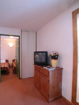 Location au ski Appartement 2 pièces cabine 6 personnes - Les Balcons Du Soleil - Saint-François Longchamp - Couloir