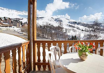 Location au ski Residence Belle Vue - Saint-François Longchamp - Extérieur hiver