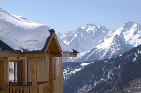 Location au ski Residence Le Hameau De Saint Francois - Saint-François Longchamp - Extérieur hiver