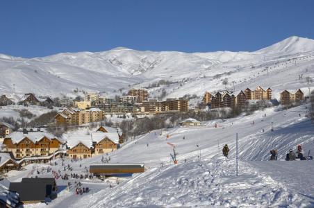 Location au ski Résidence le Hameau de Saint-François - Saint-François Longchamp - Extérieur hiver