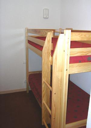 Location au ski Appartement 2 pièces coin montagne 6 personnes - Residence Le Hameau De Saint Francois - Saint-François Longchamp - Lits superposés