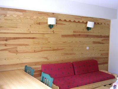 Location au ski Appartement 2 pièces coin montagne 6 personnes - Residence Le Hameau De Saint Francois - Saint-François Longchamp - Séjour